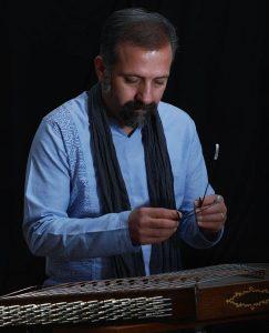 محسن حسینی مدرس سنتور آموزشگاه موسیقی همراز