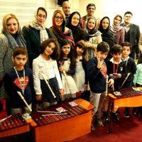 آموزش ارف زیرنظر لیلی اکبری در آموزشگاه موسیقی همراز