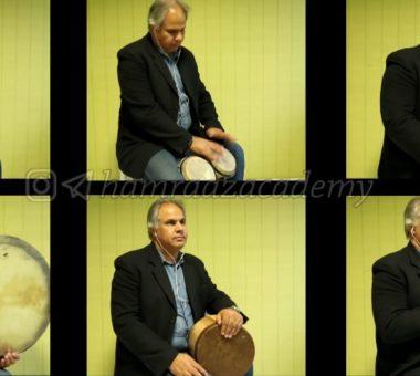 آموزش سازهای کوبه ای در آموزشگاه موسیقی همراز زیرنظر محمدرضا طیار