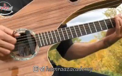 گیتار هارپ نوازی زیبا