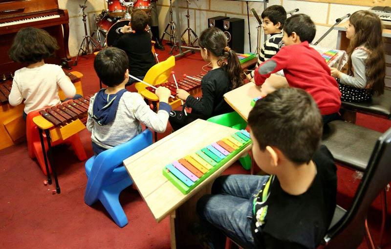 آموزش موسیقی کودک آموزش ارف