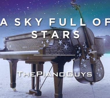 قطعه یک آسمان پر از ستاره با اجرای پیانوگایز