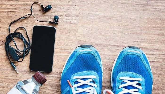 گوش دادن به موسیقی و ورزش