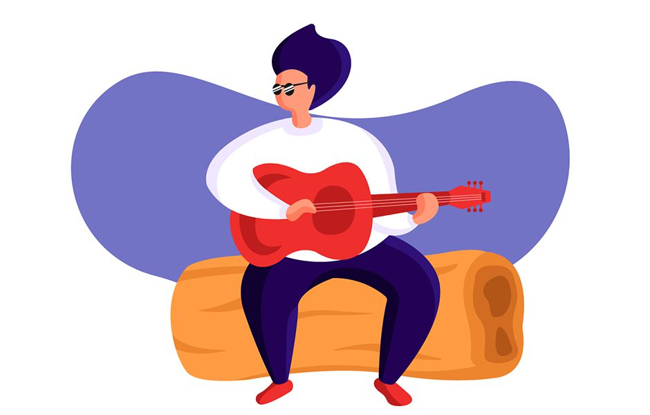 حالت گیری خوب و نگهداشتن دست ها در نوازندگی گیتار