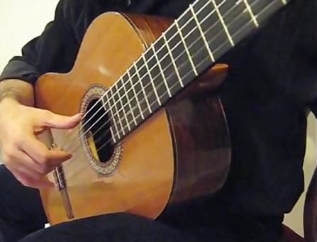 اصول نوازندگی گیتار کلاسیک