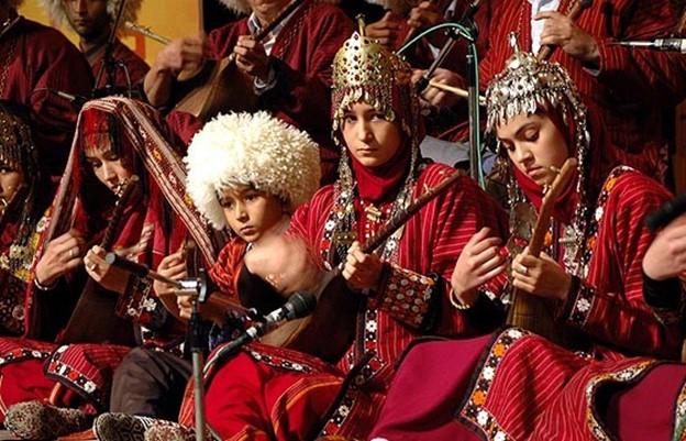 استفاده از دوتار ترکمنی در موسیقی درمانی