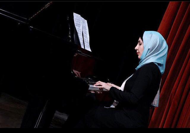 سعیده ابولقاسمی مدرس پیانو