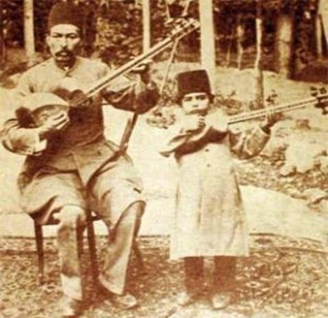 هنرمندان موسیقی قدیم ایران
