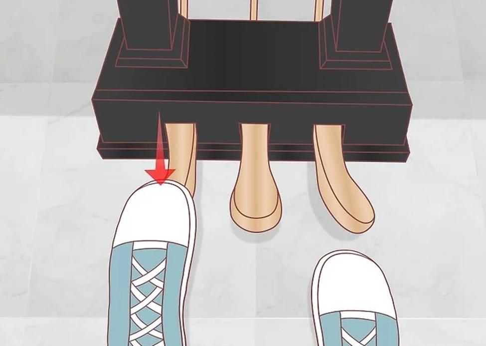 پدال پایی سمت جپ