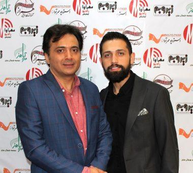 محسن افشانی و مجید اخشابی